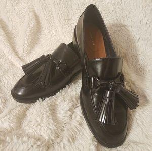 Zara Woman black loafers